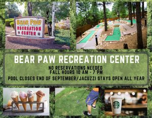 Bear Paw Fall Hours