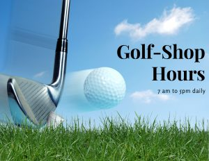 Golf-Shop Hours