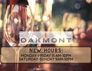 New Oakmont hours